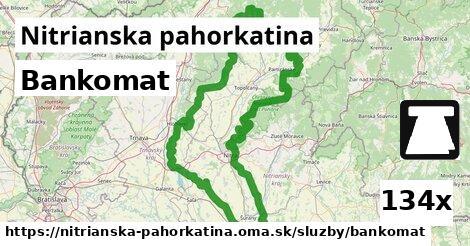 ilustračný obrázok k Bankomat, Nitrianska pahorkatina