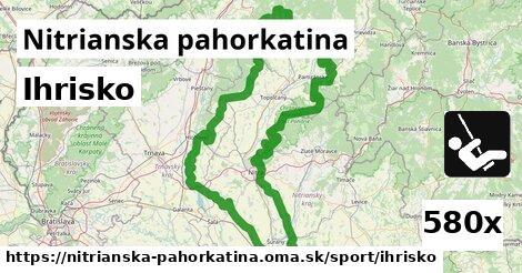 ilustračný obrázok k Ihrisko, Nitrianska pahorkatina
