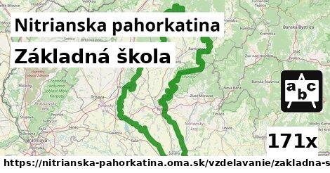 ilustračný obrázok k Základná škola, Nitrianska pahorkatina