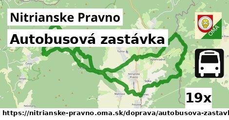 ilustračný obrázok k Autobusová zastávka, Nitrianske Pravno