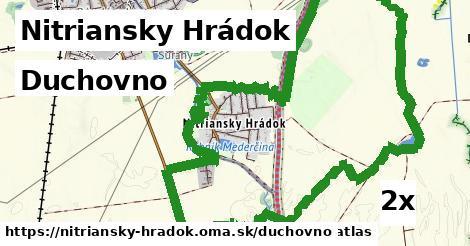duchovno v Nitriansky Hrádok