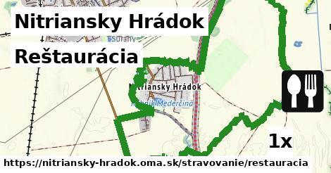 reštaurácia v Nitriansky Hrádok