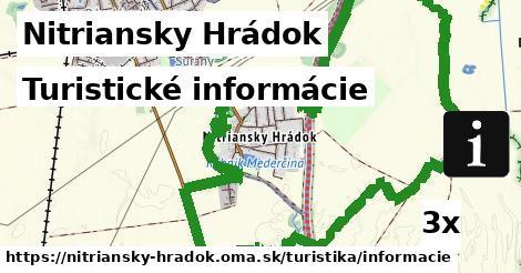 turistické informácie v Nitriansky Hrádok