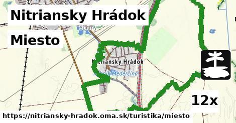miesto v Nitriansky Hrádok