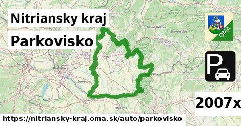 ilustračný obrázok k Parkovisko, Nitriansky kraj