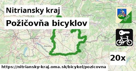 ilustračný obrázok k Požičovňa bicyklov, Nitriansky kraj
