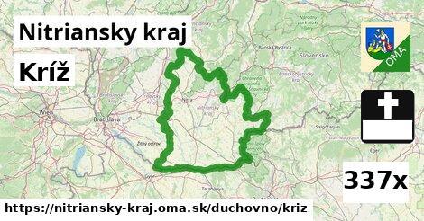 ilustračný obrázok k Kríž, Nitriansky kraj
