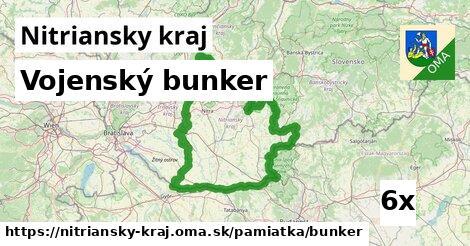 ilustračný obrázok k Vojenský bunker, Nitriansky kraj