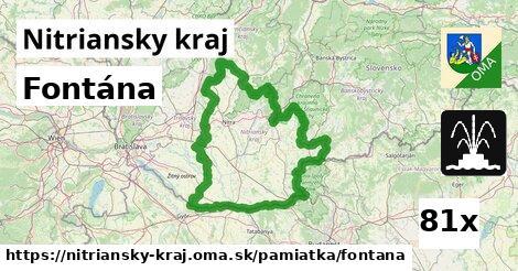 ilustračný obrázok k Fontána, Nitriansky kraj