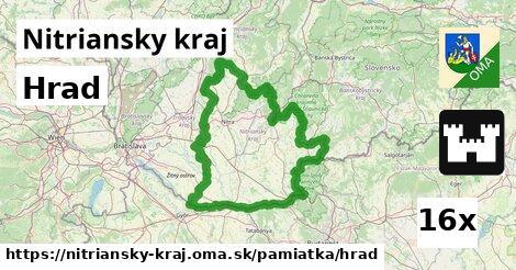 hrad v Nitriansky kraj