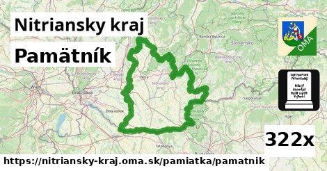 ilustračný obrázok k Pamätník, Nitriansky kraj