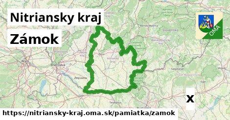 ilustračný obrázok k Zámok, Nitriansky kraj