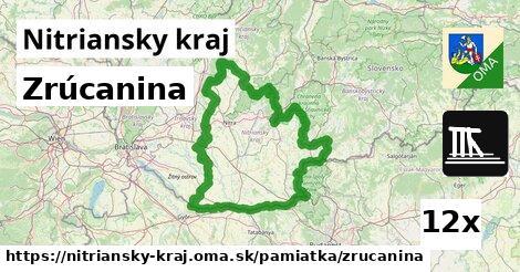 ilustračný obrázok k Zrúcanina, Nitriansky kraj