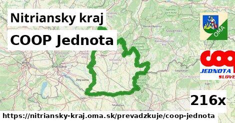 ilustračný obrázok k COOP Jednota, Nitriansky kraj