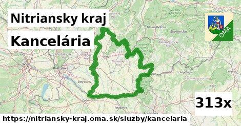 kancelária v Nitriansky kraj