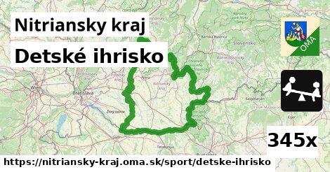 detské ihrisko v Nitriansky kraj