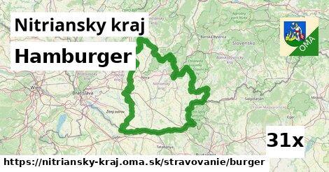 hamburger v Nitriansky kraj