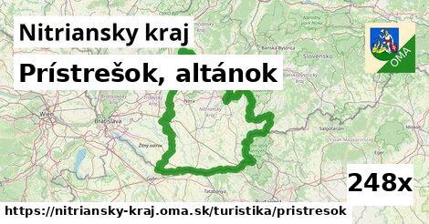 ilustračný obrázok k Prístrešok, altánok, Nitriansky kraj