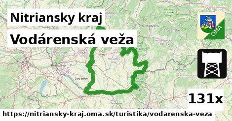 ilustračný obrázok k Vodárenská veža, Nitriansky kraj