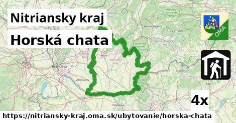 ilustračný obrázok k Horská chata, Nitriansky kraj
