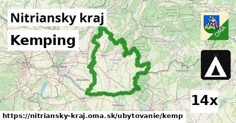 kemping v Nitriansky kraj