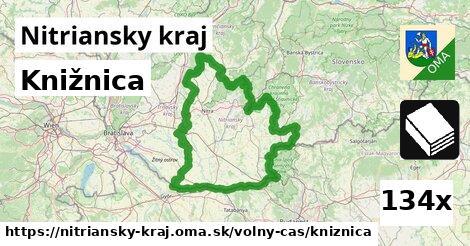 ilustračný obrázok k Knižnica, Nitriansky kraj