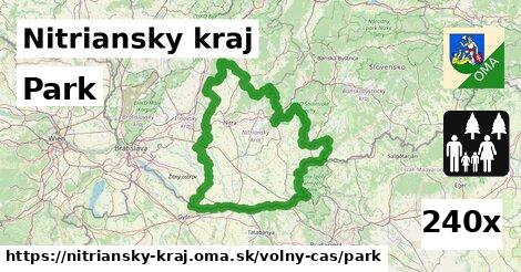 ilustračný obrázok k Park, Nitriansky kraj