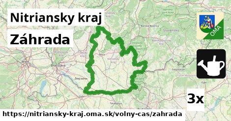 ilustračný obrázok k Záhrada, Nitriansky kraj