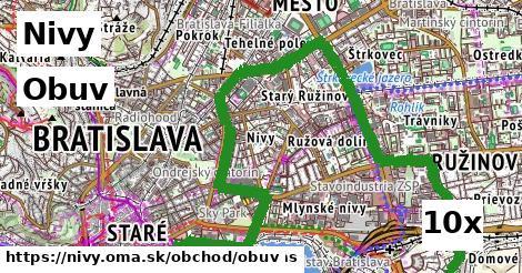 ilustračný obrázok k Obuv, Nivy