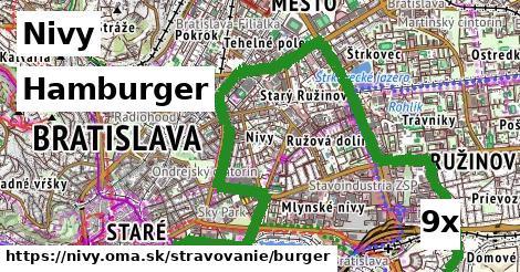 hamburger v Nivy