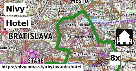hotel v Nivy