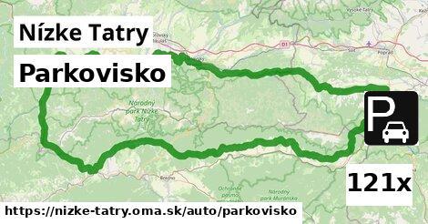 parkovisko v Nízke Tatry