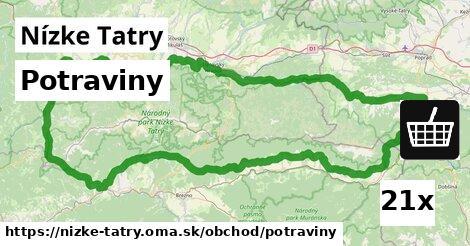 ilustračný obrázok k Potraviny, Nízke Tatry