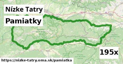 pamiatky v Nízke Tatry