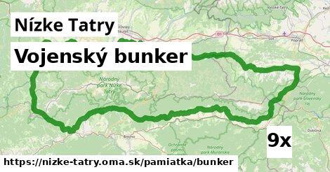 vojenský bunker v Nízke Tatry