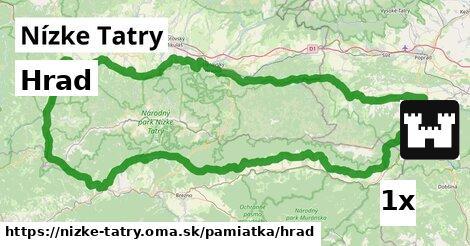 hrad v Nízke Tatry