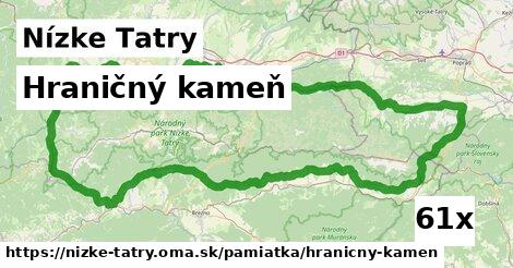 ilustračný obrázok k Hraničný kameň, Nízke Tatry