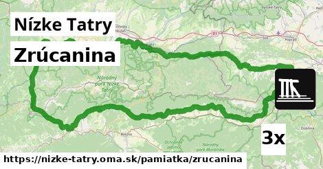 ilustračný obrázok k Zrúcanina, Nízke Tatry