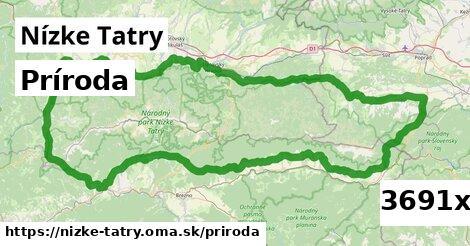 príroda v Nízke Tatry