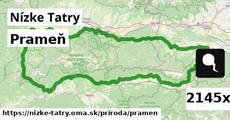 prameň v Nízke Tatry