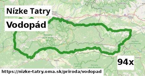 vodopád v Nízke Tatry
