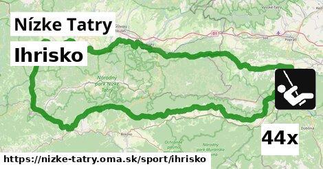 ihrisko v Nízke Tatry