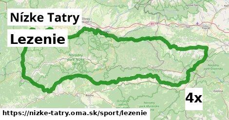 lezenie v Nízke Tatry