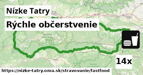 ilustračný obrázok k Rýchle občerstvenie, Nízke Tatry