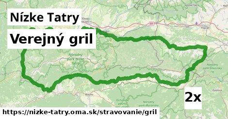 ilustračný obrázok k Verejný gril, Nízke Tatry