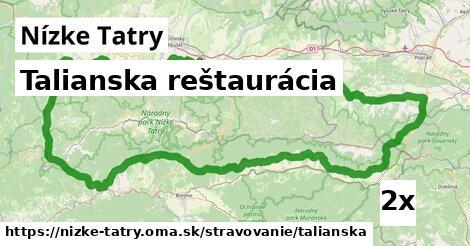 ilustračný obrázok k Talianska reštaurácia, Nízke Tatry