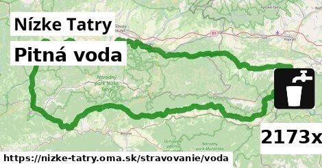pitná voda v Nízke Tatry