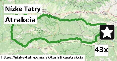 atrakcia v Nízke Tatry