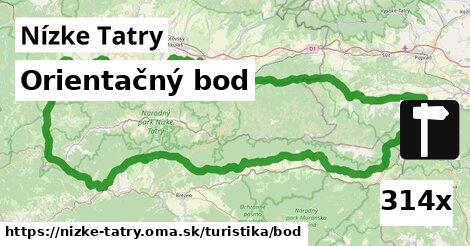 orientačný bod v Nízke Tatry