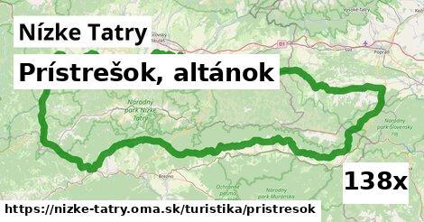 ilustračný obrázok k Prístrešok, altánok, Nízke Tatry